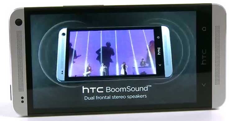 HTC One BoomSound