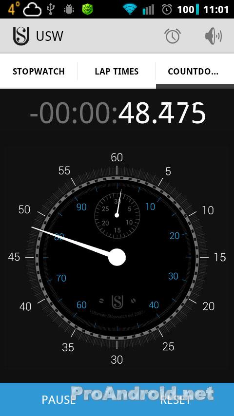 таймер обратного отсчета для lumia 630