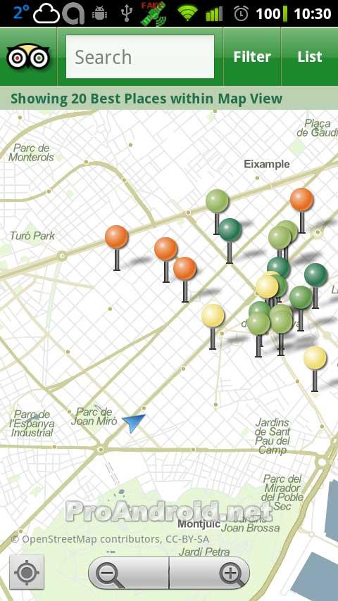 Barcelona, city guide - screenshots