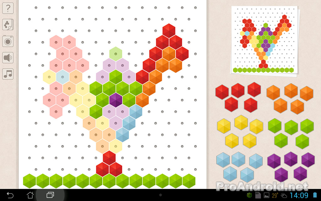 Игры рисовать мозаикой