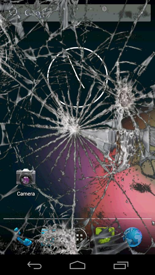 Скачать на андроид приложение разбитый экран