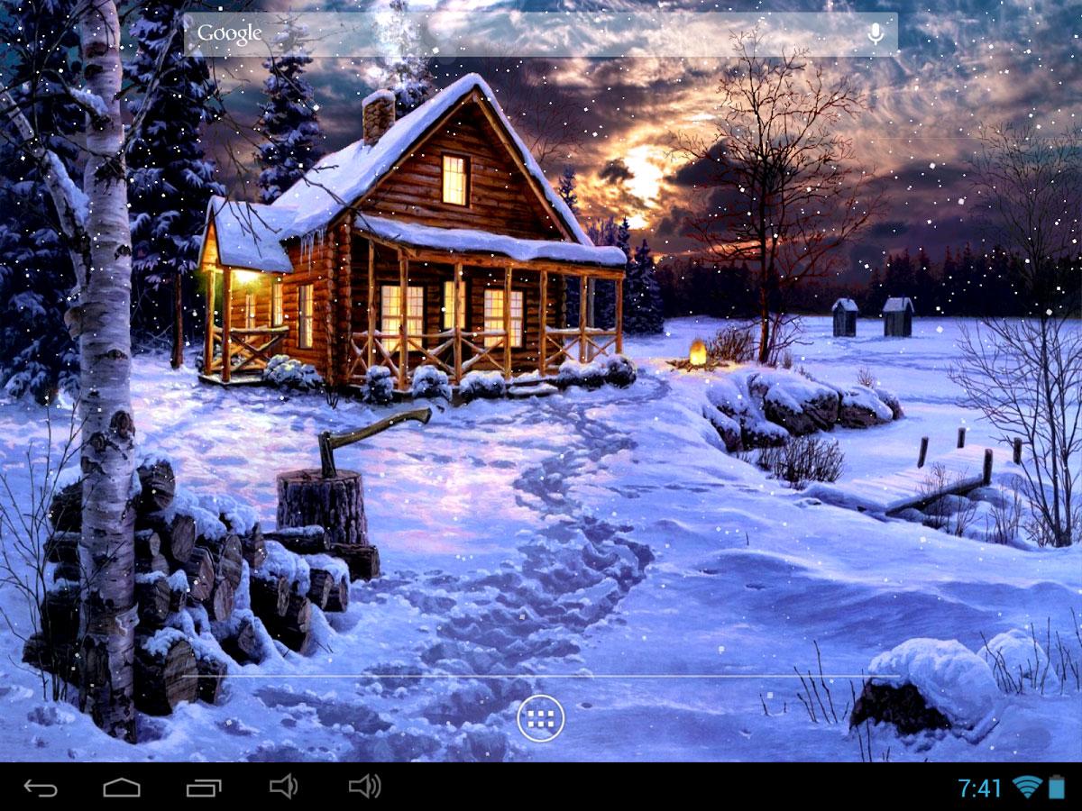 Зимние Живые Обои На Телефон Андроид Скачать