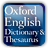 Concise Oxford English Dictionary and Thesaurus